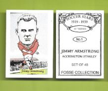 Accrington Stanley Jimmy Armstrong 1 (FC)